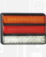 LED Autolamps 200BARWM Stop/Tail/Indicator Triple Combination Lamp - Multivolt (Blister)
