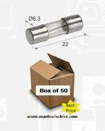 Narva 52207 Glass Fuse 2AG 7.5Amp (Box of 50)