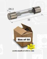 Narva 52302 Glass Fuse 3AG - 2Amp (Box of 50)