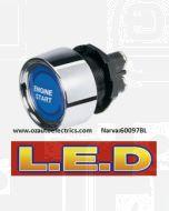 Narva 60097BL 12 Volt Starter Switch with Blue L.E.D