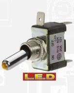 Narva 60285BL Off/On Toggle Switch with Amber L.E.D