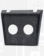 Dual Hole Plastic Switch Panel