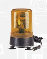 Narva 85423A Hi Optics Rotating Beacon (Amber) Magnetic Base 12/24 Volt