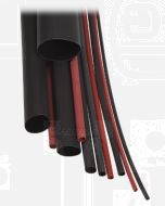 Narva 56676 Heatshrink Dual Wall Tubing - Black (Shrunk Dia. 13mm)