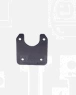 Narva 82305BL Flat Bracket for Small Round Plastic Sockets