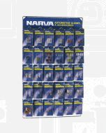 Narva 'Combined' Blistered Automotive Fuse and Globe Merchandiser
