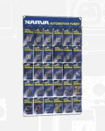 Narva 'Full Range' Blistered Fuse Merchandiser