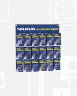 Narva 'Popular' Blistered Automotive Fuse Merchandiser