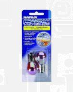 Narva 47385BL Indicator Globe 12V 21W Amber BAU15s Phantom Invisible Amber (2)