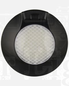 LED Autolamps 143ILB12 Interior Lamp with On/Door/Off Switch- 12V Black (Single Blister)