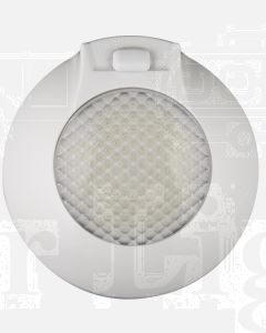 LED Autolamps 143ILW12 Interior Lamp with On/Door/Off Switch- 12V, White (Single Blister)