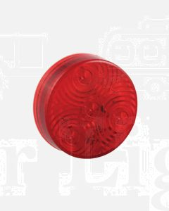 LED Autolamps Round Marker Lamps - Red (71mm Diam x 17mm high)