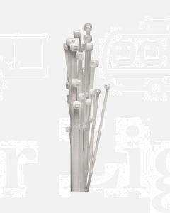 White Cable Ties (10) 4.8 x 370mm