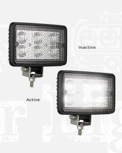 LED Autolamps 7451BM Flood Lamp - Black Housing (Single Blister)