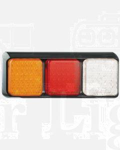 LED Autolamps 80BARWM Stop/Tail/Indicator/Reverse Triple Combination Lamp - Multivolt (Blister)