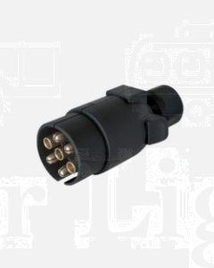 Narva 82185BL 7 Pin Large Round Plastic 'Quickfit' Trailer Plug