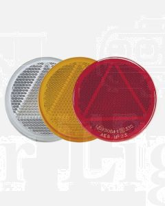 Narva 84007BL Red Retro Reflector 65mm dia. with Self Adhesive  (Blister Pack of 2)