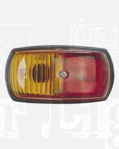 Narva 85760BL Side Marker Lamp (Red/Amber) - Blister Pack