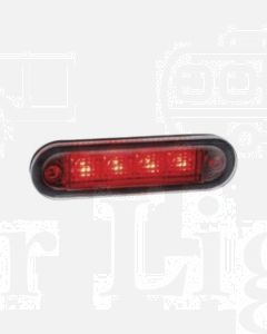 Narva 90830BL 10-30 Volt L.E.D Rear End Outline Marker Lamp (Red) with 0.5m Cable (Blister Pack)