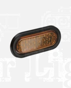 Narva 96052 12 Volt L.E.D Side Direction Indicator Lamp Kit (Amber) with Vinyl Grommet