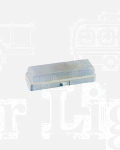 Britax Interior Lamp Clear Lens White Base (893-00)