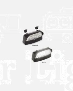 LED Autolamps 41BLM 41 Series Licence Plate Lamp (Blister)
