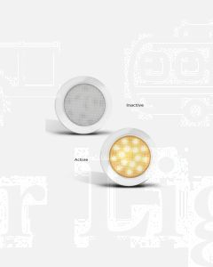 LED Autolamps 7515W-WW 7515 Series Interior Lamp (Single Blister)