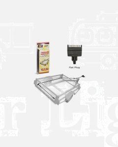 LED Autolamps TK6x4F 6x4 Plug in Cable kit - Flat Trailer Plug