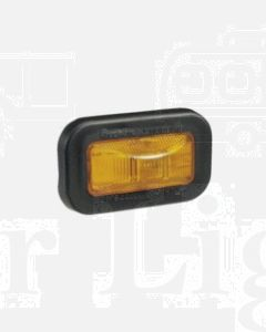 Narva 91510 24 Volt Sealed Side Direction Indicator or External Cabin Lamp Kit (Amber) with Vinyl Grommet for Flush Mounting