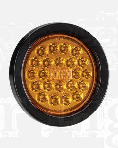 Narva 94040BL 9-33 Volt L.E.D Rear Direction Indicator Lamp Kit (Amber) with Vinyl Grommet - Lamp Only (Blister Pack)
