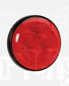 Narva 94301 9-33 Volt L.E.D Rear Stop / Tail Lamp (Red) with 0.5m Hard-Wired Sheathed Cable and Black Base