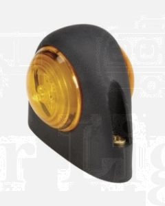 Narva 93112BL 9-33 Volt L.E.D Side Direction Indicator Lamp (Amber / Amber) in Neoprene Body (Blister Pack)