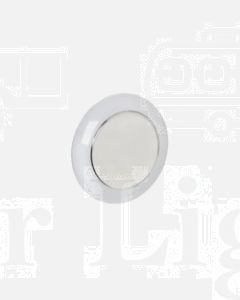 Narva 87500BL 9-33 Volt Saturn 75mm L.E.D Interior Lamp with Touch Sensitive On / Dim / Off Switch (Blister Pack)
