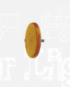 Narva 84001/50 Amber Retro Reflector 65mm dia. with Fixing Bolt (Bulk Pack of 50)