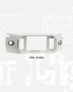 Narva 91694 Model 16 Licence Plate Lamps - White Header Mounting Base