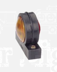 Narva 86740 Side Marker, Front or Rear Position (Side) Lamp (Red / Amber) with Wedge Base Globe Holder