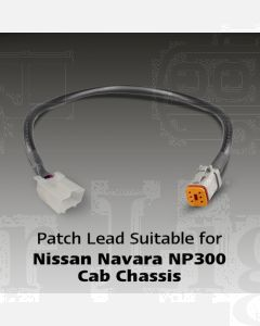LED Autolamps Patch Lead Suitable for Nissan Navara NP300 Cab Chassis